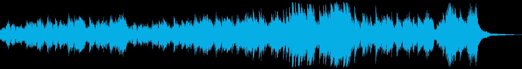 ゲームイベントシーン向け感動ピアノソロの再生済みの波形