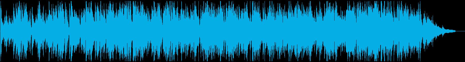 明るいジャズ、程よいテンポ感のスイングの再生済みの波形