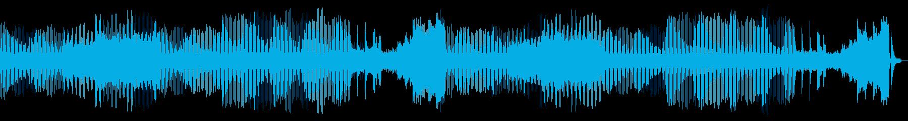 ピアノとストリングスの緊張感を感じる曲の再生済みの波形