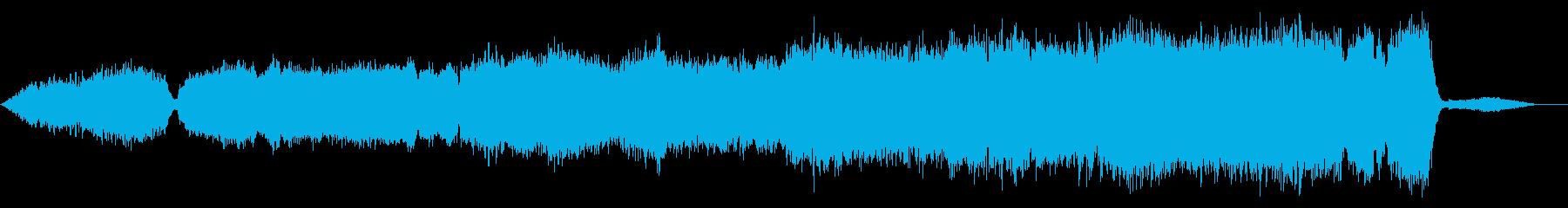映画サントラ風ストリングスオーケストラの再生済みの波形