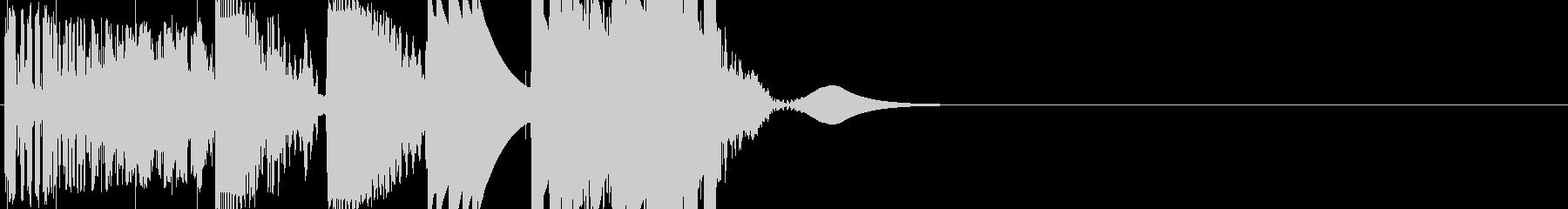 パワーキックバージョン1の未再生の波形