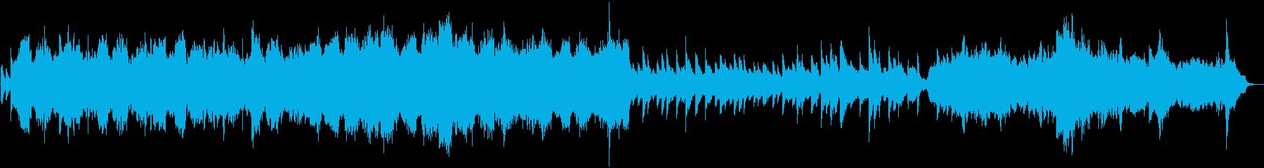 三国志のゲームで使えるバラード系BGMの再生済みの波形