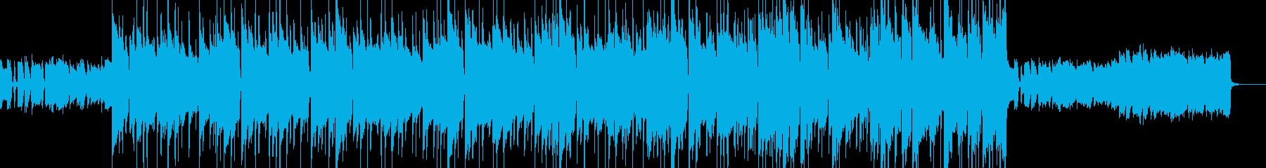 映像・オープニング向けの王道ロックギターの再生済みの波形