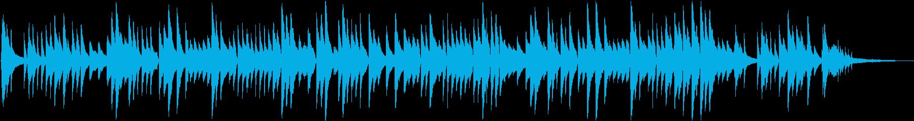 童謡赤とんぼ。心に響くピアノソロアレンジの再生済みの波形