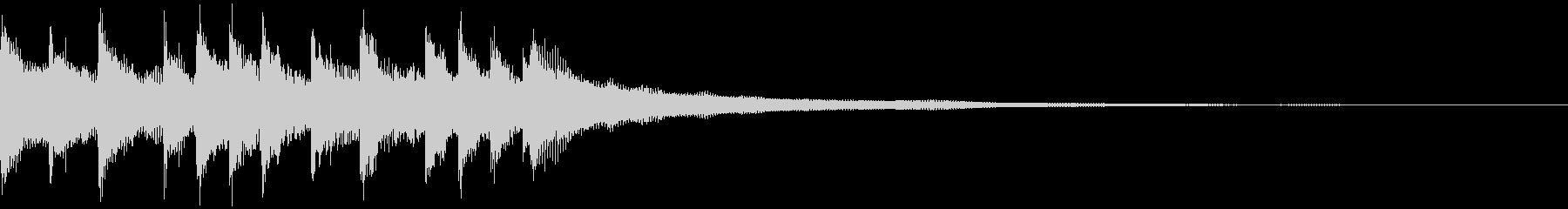 キャッチーEDM・ADMジングル2の未再生の波形