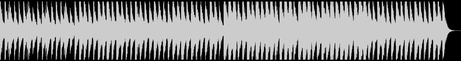 幻想的なピアノの未再生の波形