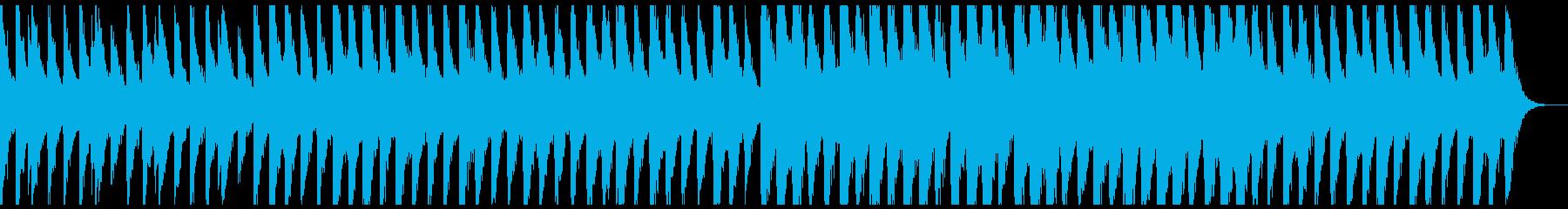 幻想的なピアノの再生済みの波形