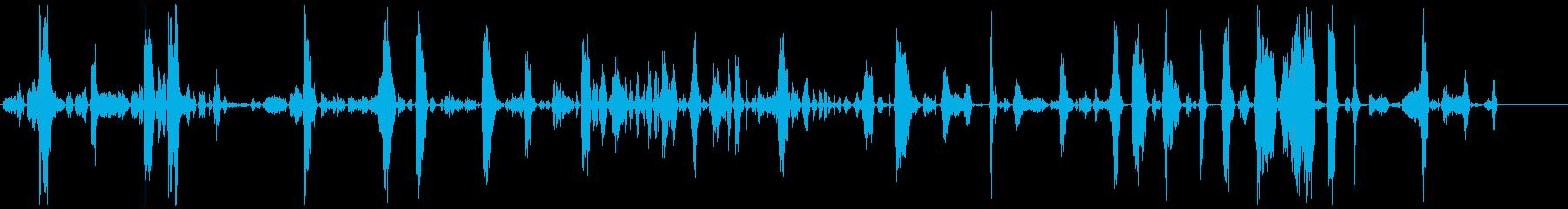 モンスター、タイプA、攻撃的の再生済みの波形