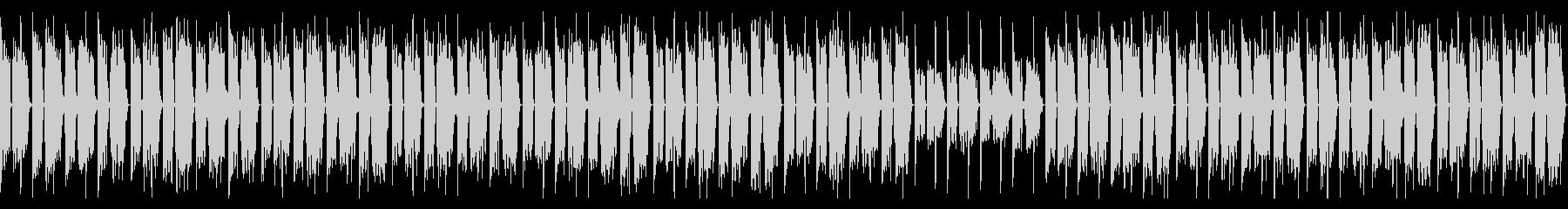 3分クッキングの曲のチルホップアレンジの未再生の波形