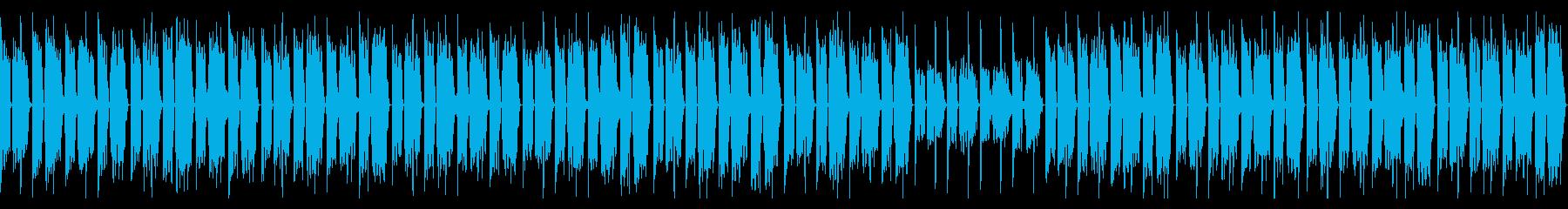 3分クッキングの曲のチルホップアレンジの再生済みの波形