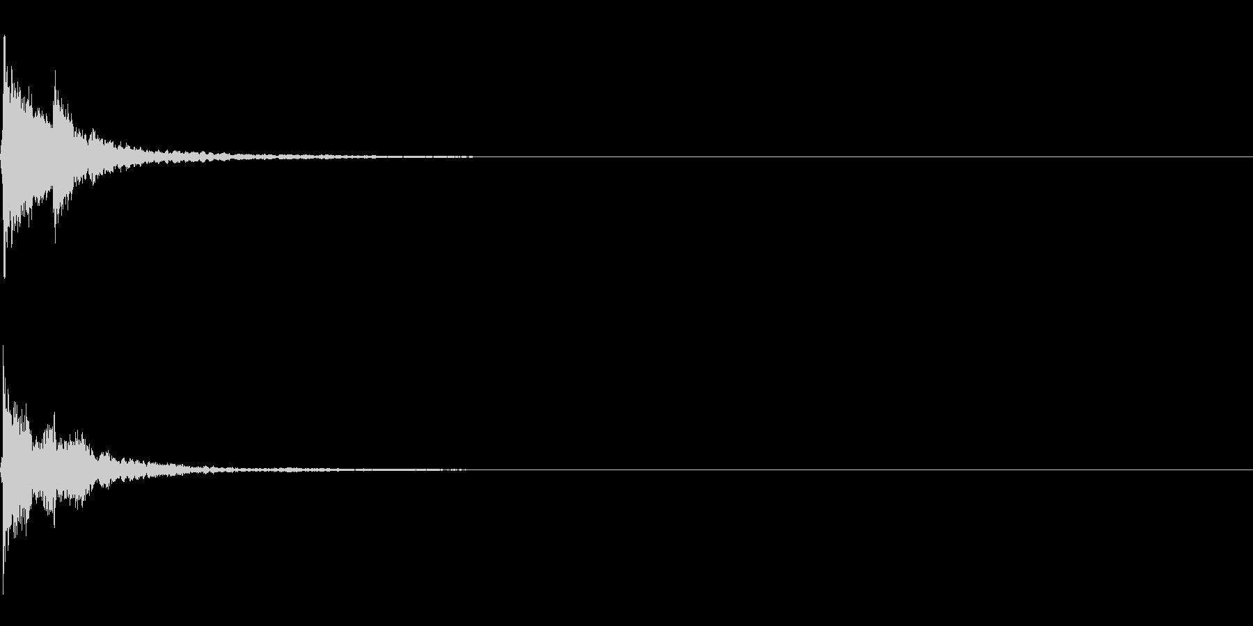 三味線/和風/システム音/A-5の未再生の波形