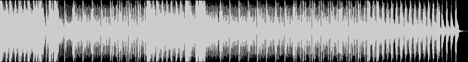 低音のシンセ音が大人な雰囲気のEDMの未再生の波形
