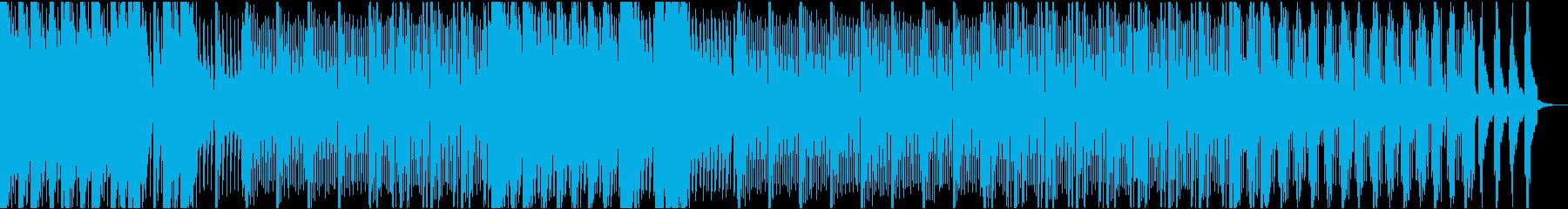 低音のシンセ音が大人な雰囲気のEDMの再生済みの波形