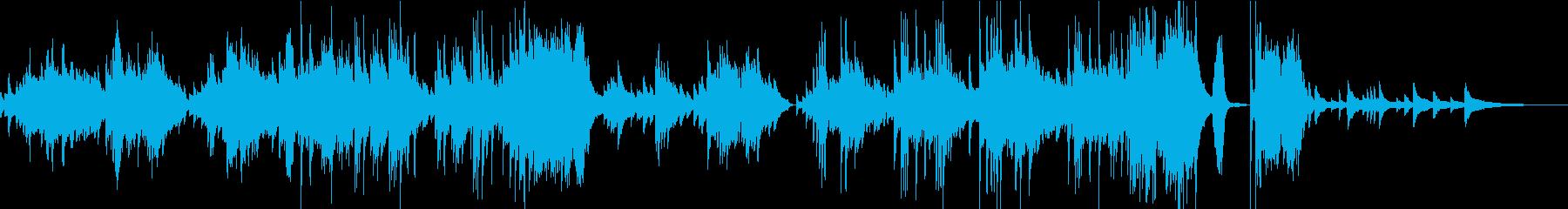 心を穏やかにする幻想的なピアノバラードの再生済みの波形