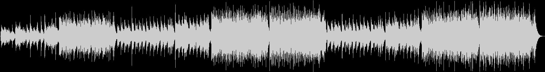 ティン・ホイッスルで幻想的なケルト音楽の未再生の波形
