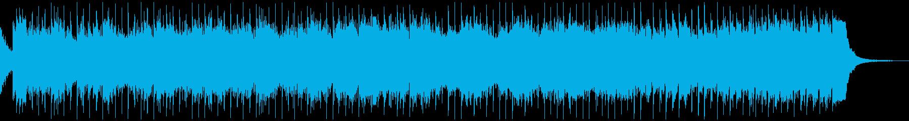 不穏な雰囲気のBGMの再生済みの波形