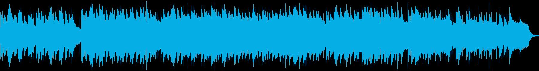 ブルース リラックス のんびり ピ...の再生済みの波形