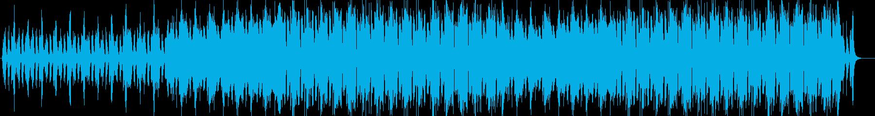 神秘的で緊張感のあるヴァイオリンテクノの再生済みの波形