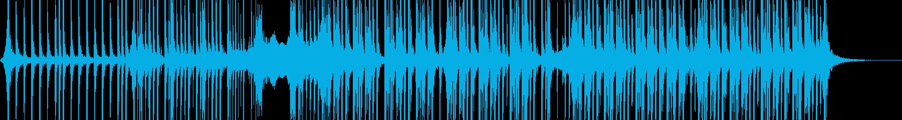 コーポレート 野生 燃焼 パーカッションの再生済みの波形