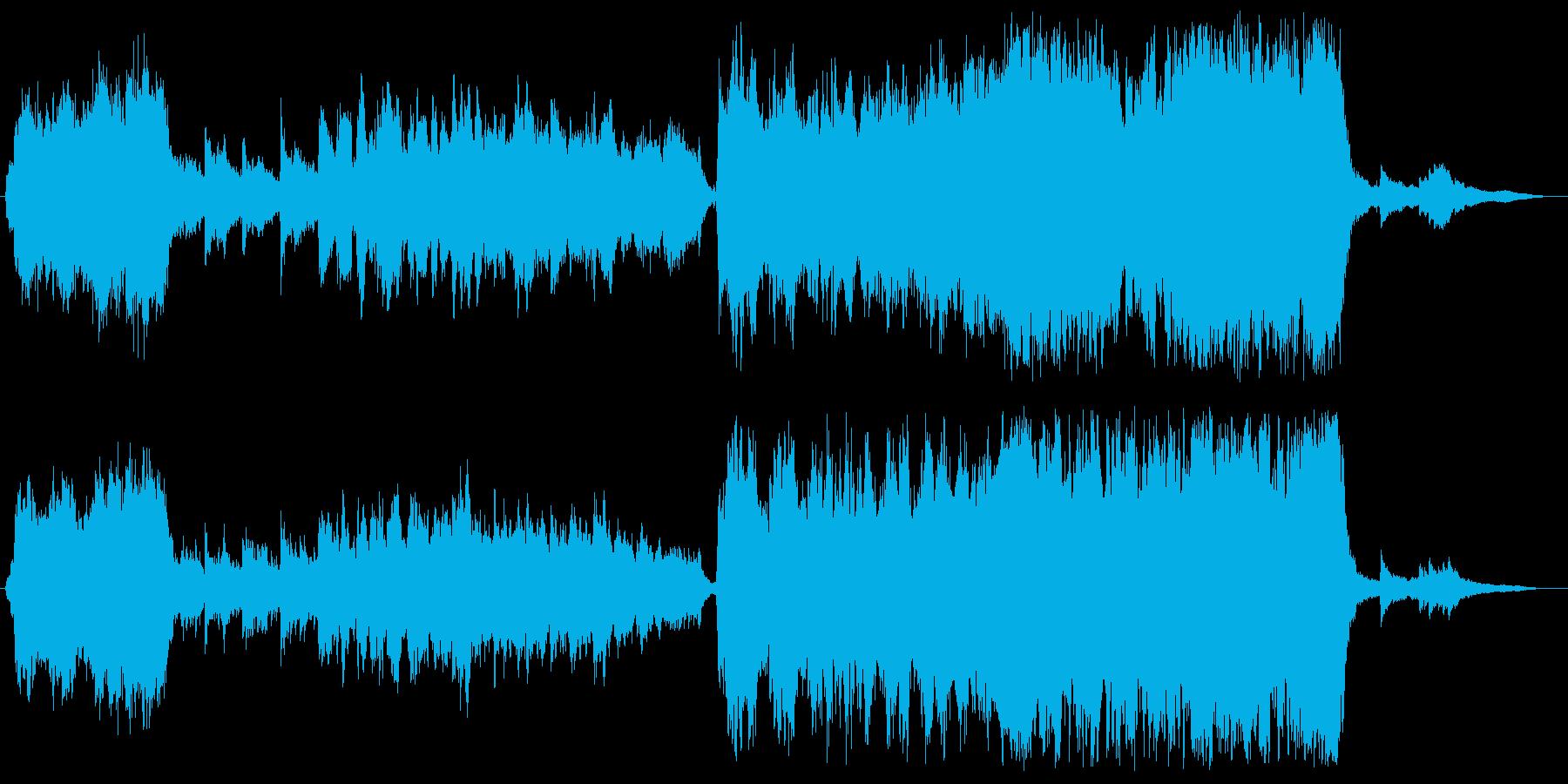 和楽器を用いた和風音楽です。の再生済みの波形