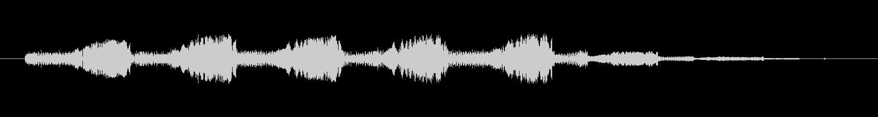 シンセ ショット未来的なぐらつき低03の未再生の波形