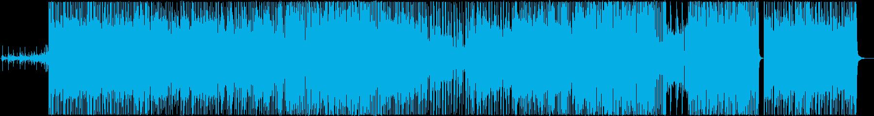 ハイスピード無鉄砲の再生済みの波形