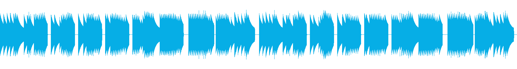 歩行者用信号機の音_とおりゃんせ_02+の再生済みの波形