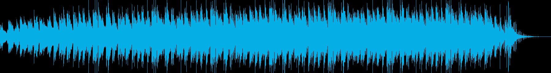 深い残響のギターアンビエントの再生済みの波形