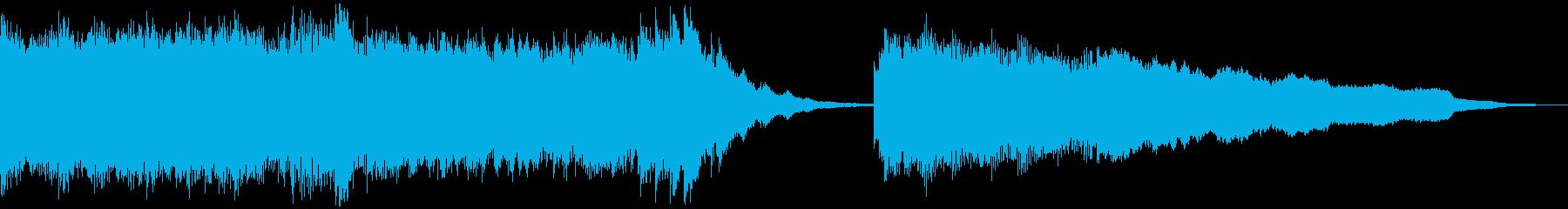 都会的なエレピのジングルの再生済みの波形