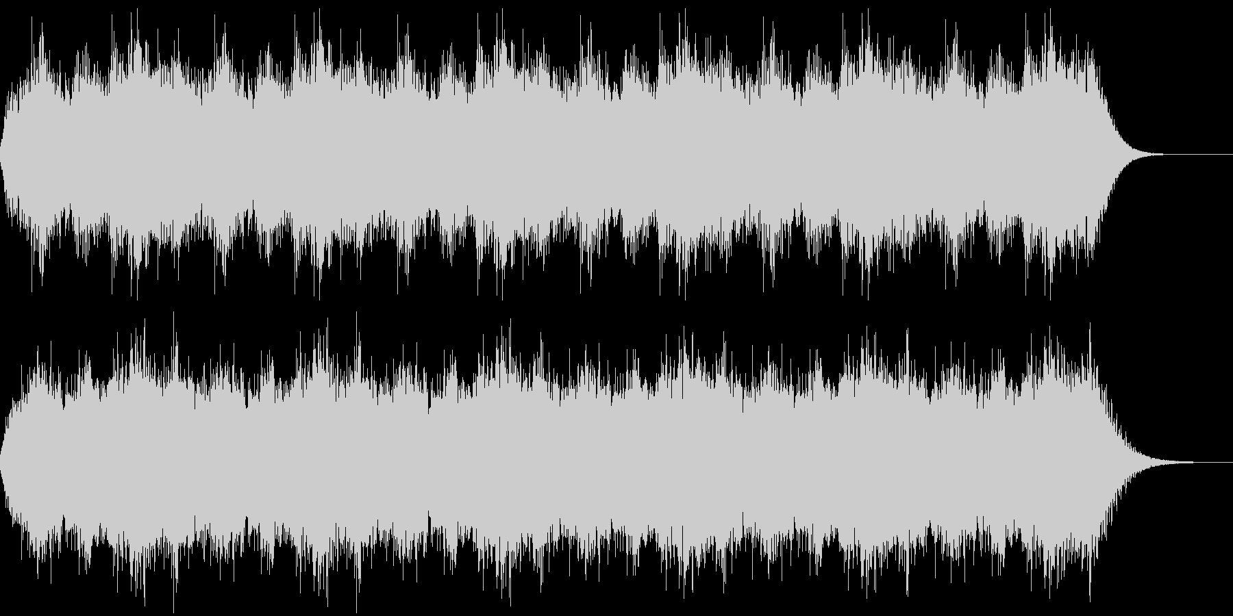 異世界の合唱BGMですの未再生の波形