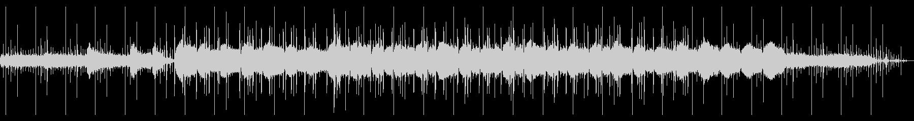 エレピとオルゴールのチル・ヒップホップの未再生の波形