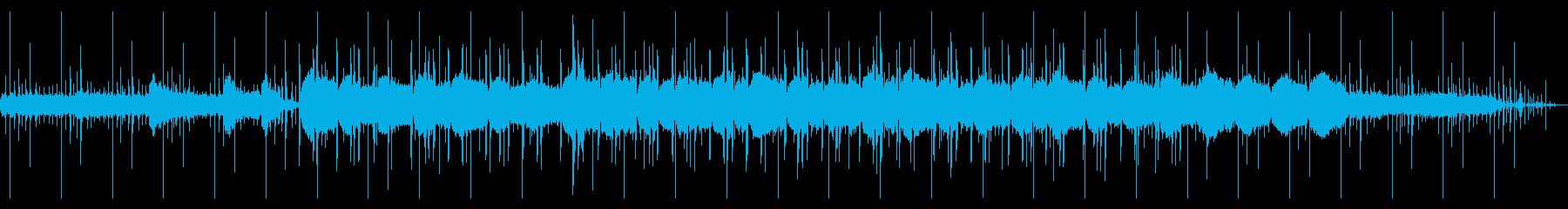エレピとオルゴールのチル・ヒップホップの再生済みの波形