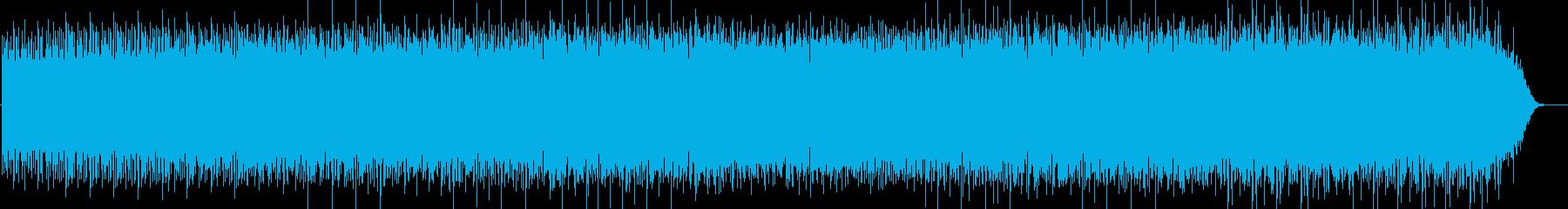 サイケデリックテイストのミニマルロックの再生済みの波形