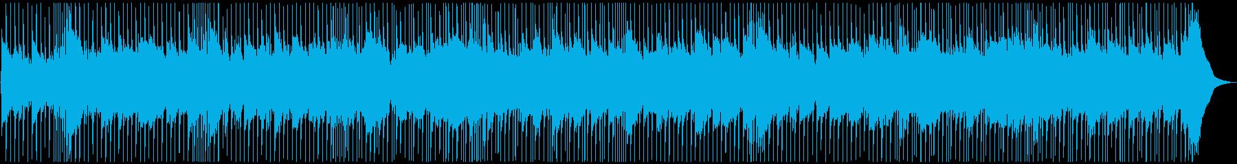 ハードロックバラードの再生済みの波形