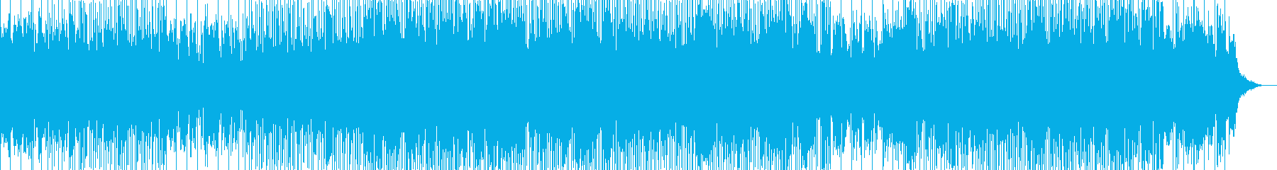 安らぎの中で疾走感のある優しいロックの再生済みの波形
