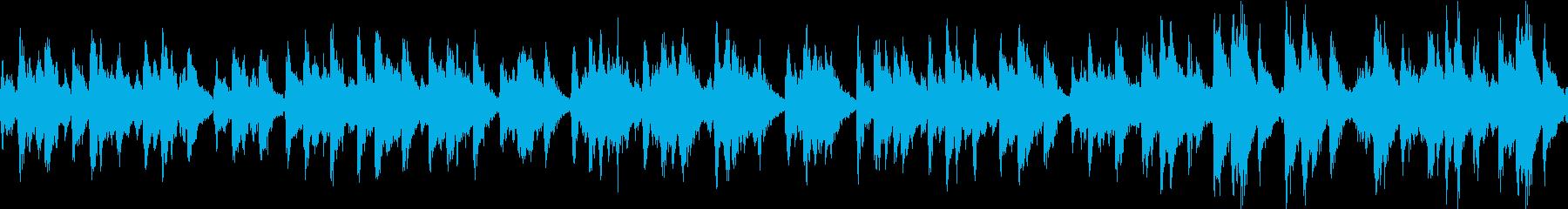 ピチカートチェロ、ビブラフォン、フ...の再生済みの波形