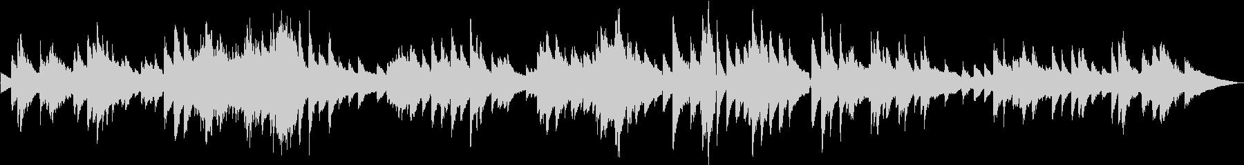 生演奏 ゆったりしたピアノBGMの未再生の波形