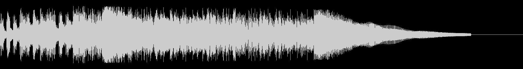 カントリー風ギターイントロ−04の未再生の波形
