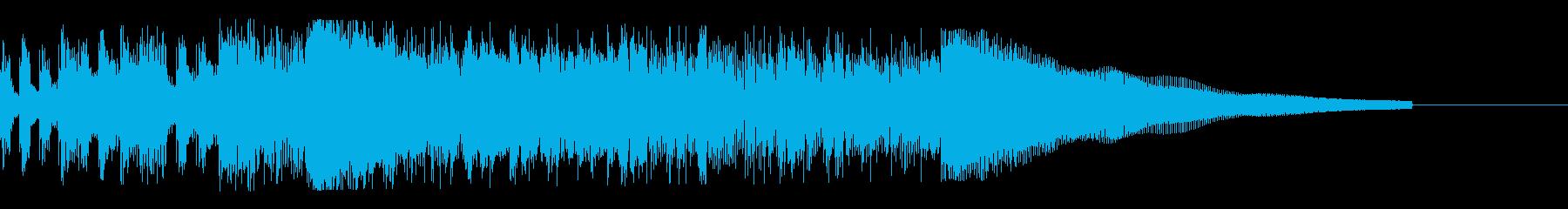 カントリー風ギターイントロ−04の再生済みの波形
