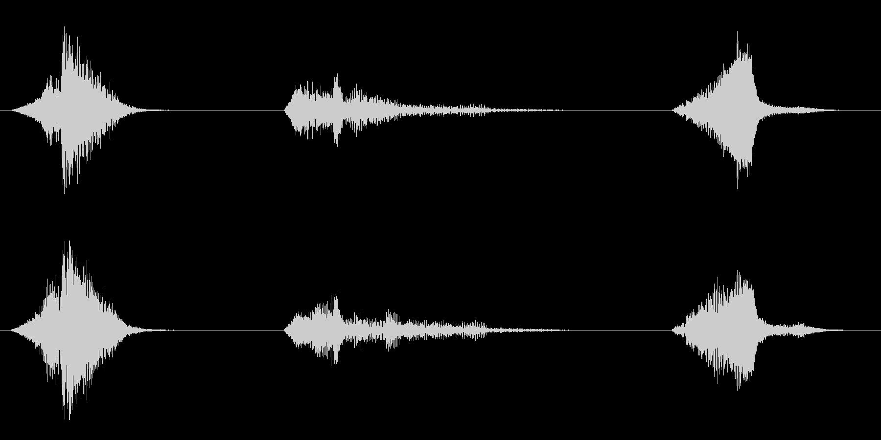 電力装置 ビーム06の未再生の波形