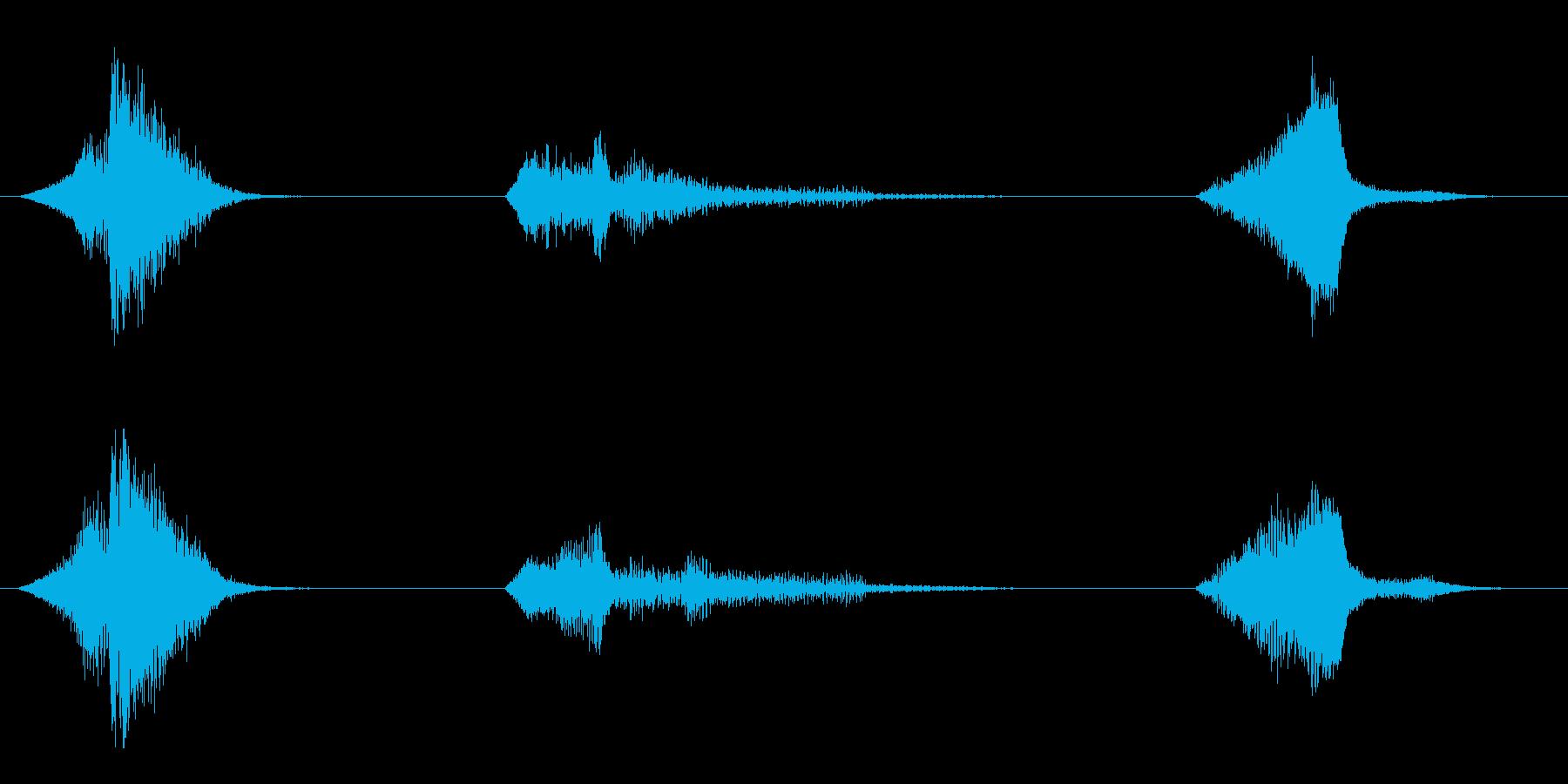 電力装置 ビーム06の再生済みの波形