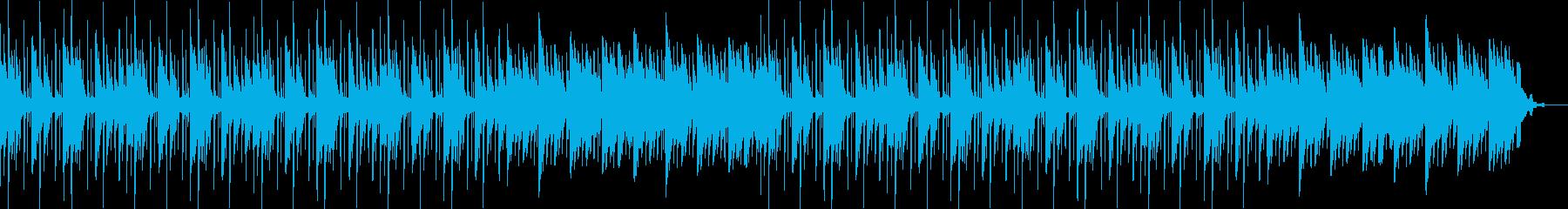 神秘的・リラックス・チルアウト・温かいの再生済みの波形