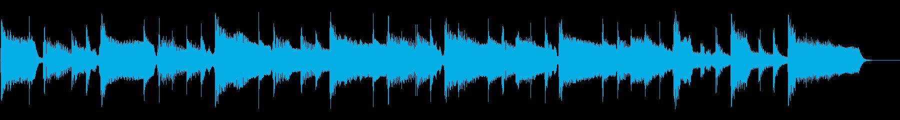 2つのスローテンポ、リズムギターや...の再生済みの波形