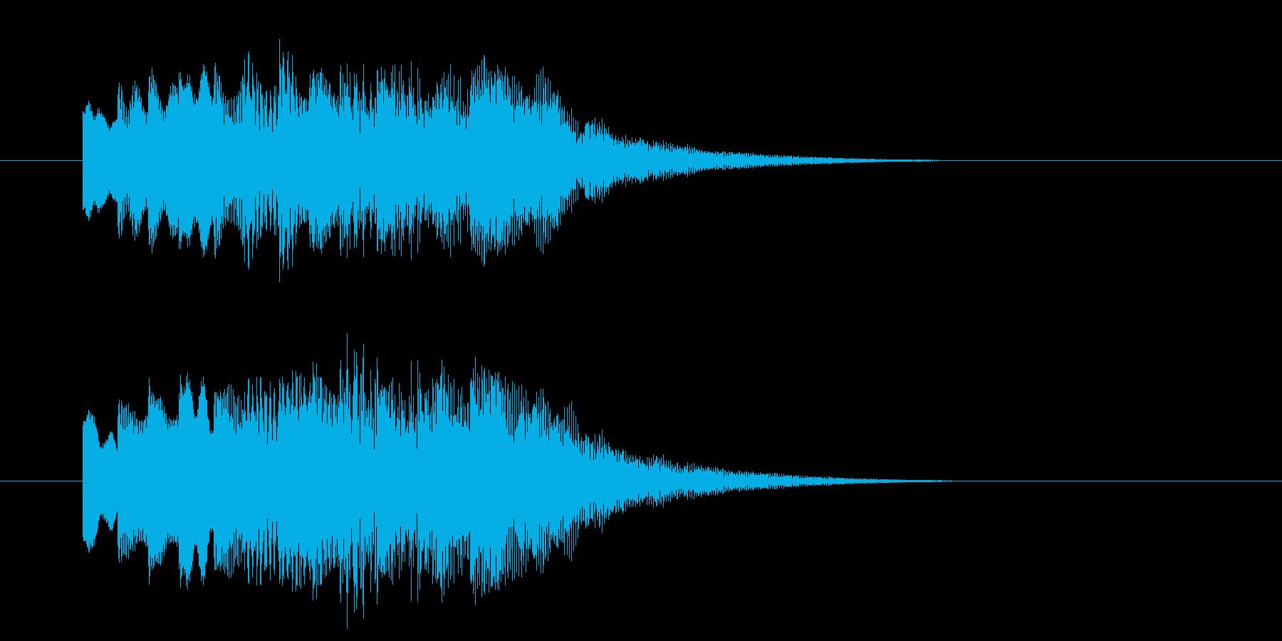 アイドルSE5 レアカード レベルアップの再生済みの波形