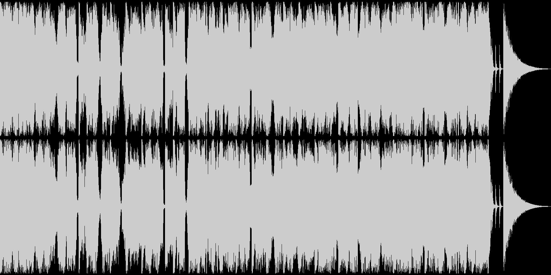 【フューチャーベース】ジングル4の未再生の波形