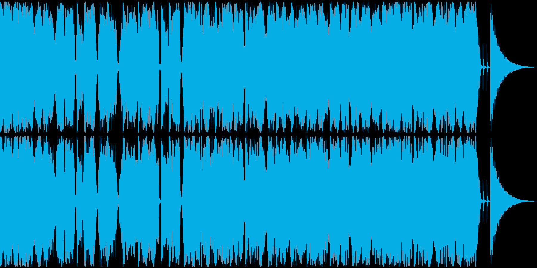【フューチャーベース】ジングル4の再生済みの波形