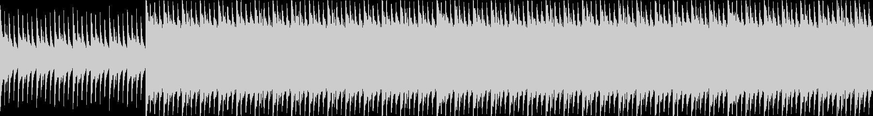 マリンバ/ピアノ/ループ/動画BGM用3の未再生の波形