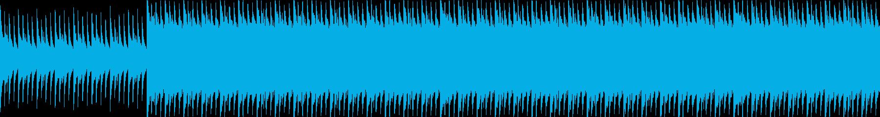 マリンバ/ピアノ/ループ/動画BGM用3の再生済みの波形