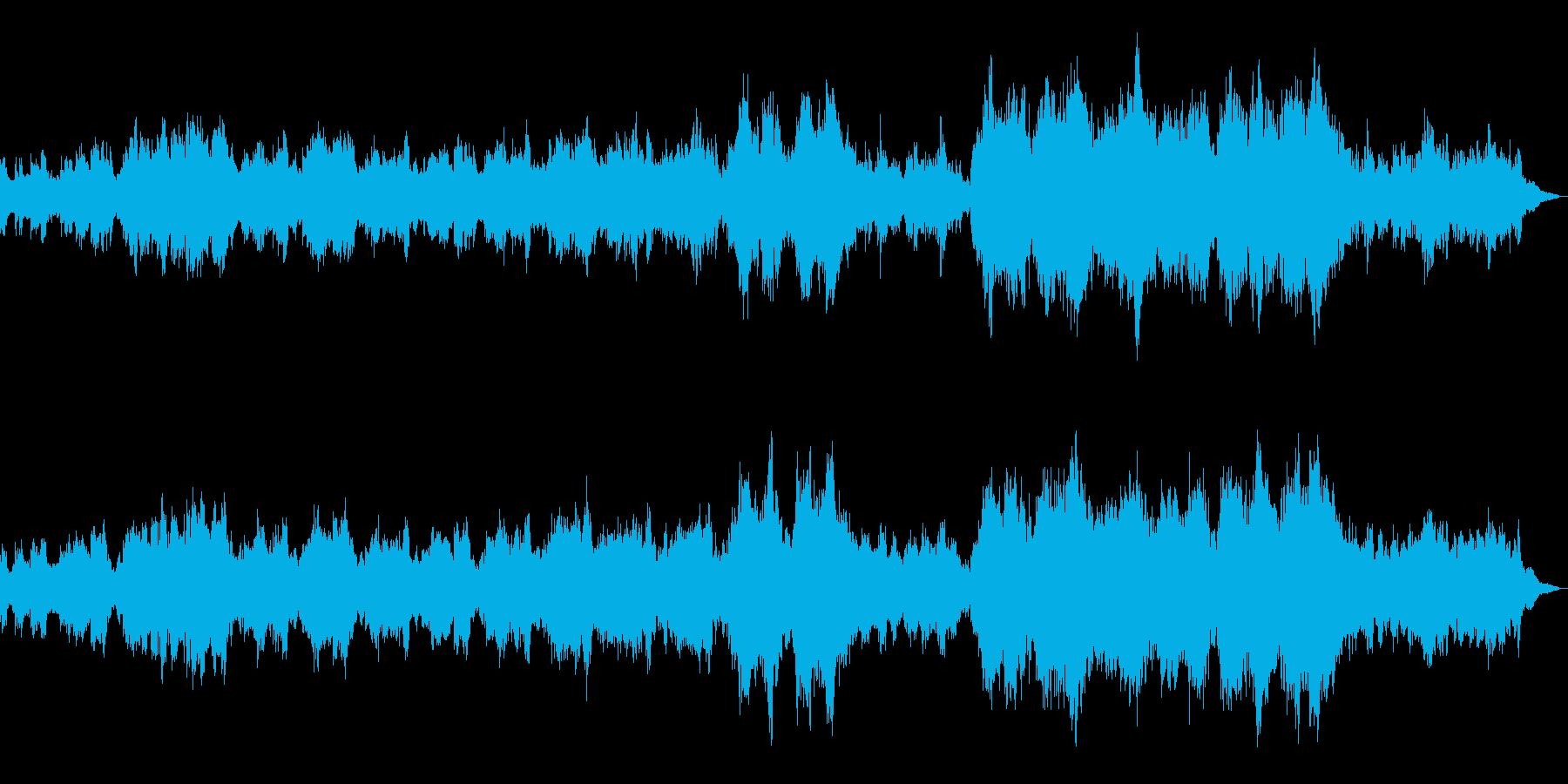 希望と祈りのオーケストラ(コーラス付)の再生済みの波形