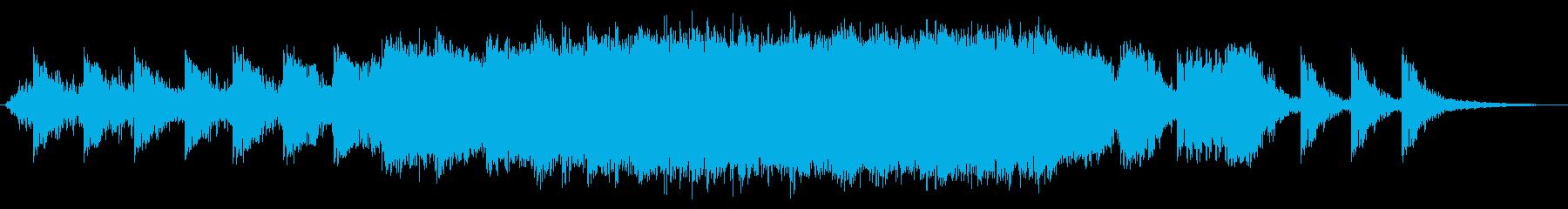 パワートライブミュージカルベッドの再生済みの波形
